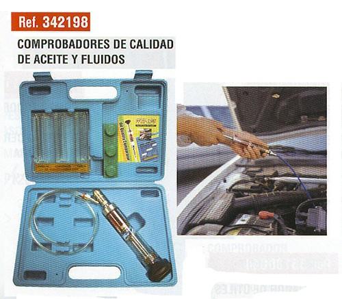 Comprobadores de calidad de aceites y fluidos