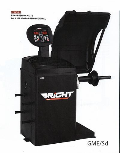 Equilibradora de ruedas turismos BRIGTH - BP66 Premium  / Kite Digital