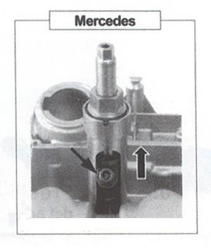 Extractor inyectores Merecedes Benz CDi