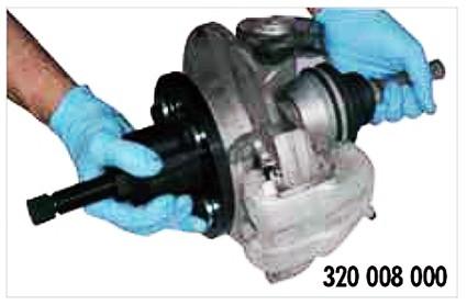 Extractor especial universal para BUJES