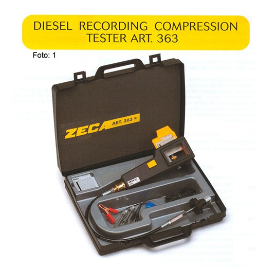 Compresímetro motores Gas-Oil de tarjeta  - Zeca-Italia