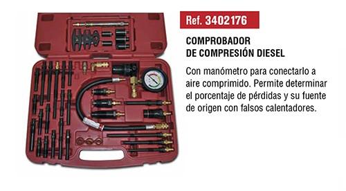 Comprobador de compresión diesel - universal -