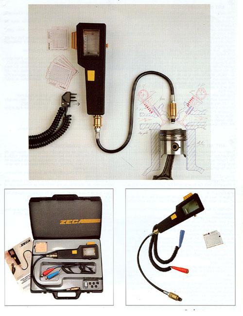 Alargadera cinco medidas para compresímetros de Gasolina / Diesel - cuando las bujías están profundamente hundidas.